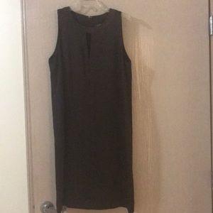 Ralph Lauren chocolate brown shift dress